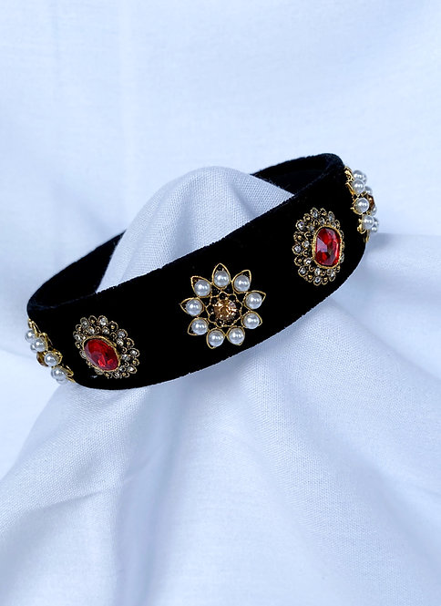 Red Dolce Headband