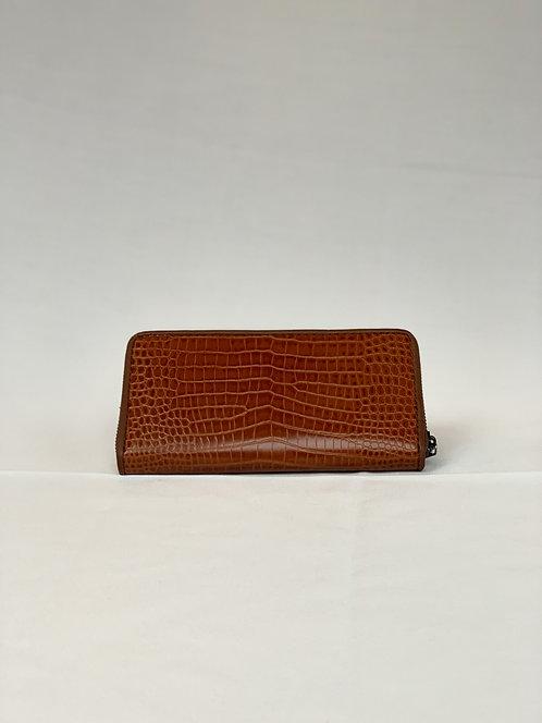 Brown Croc Wallet