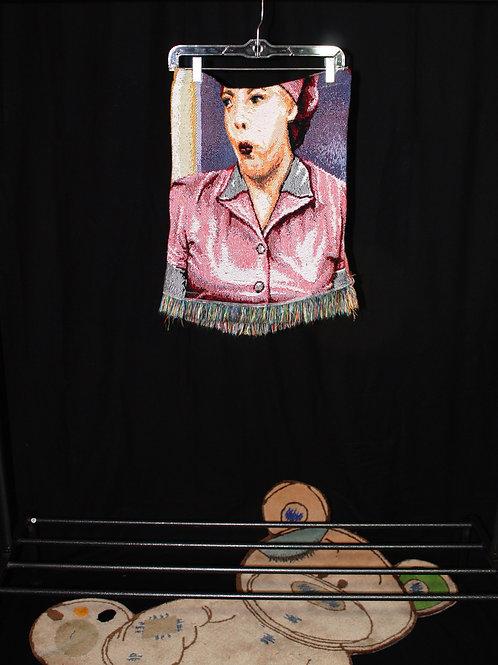LUCY Lu Tapestry Mini Skirt