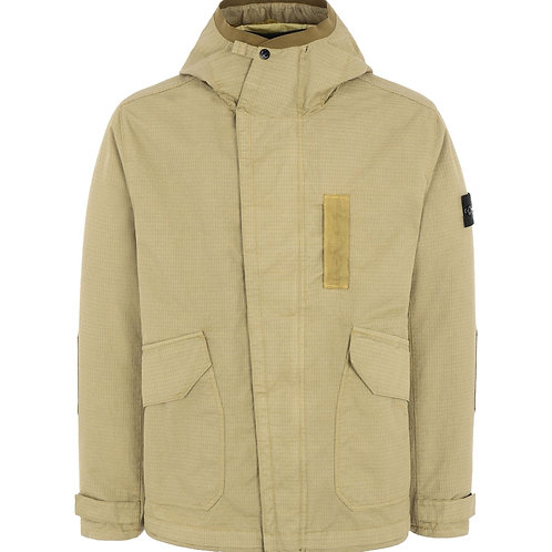 Parka 43999 REFLECTIVE WEAVE RIPSTOP anis, STONE ISLAND