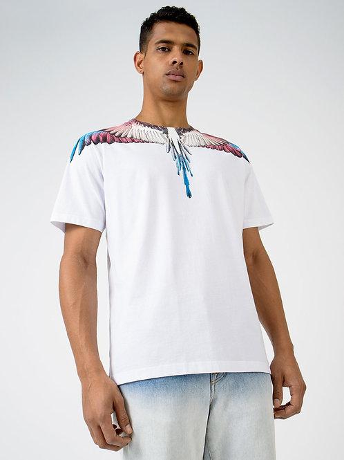 T-shirt blanc Wings MARCELO BURLON