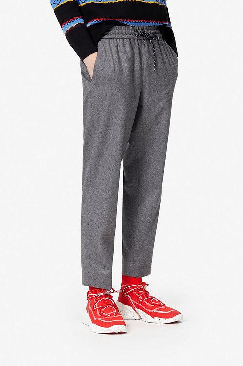Pantalon en flanelle gris, KENZO