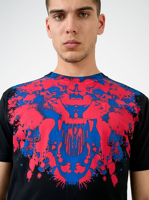 T-shirt Tigre noir MARCELO BURLON