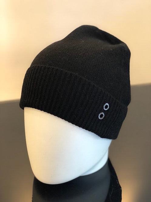 Bonnet cachemire noir, RON DORFF