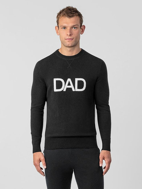 Cashmere Sweatshirt DAD noir, RON DORFF