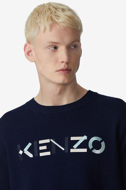 Pull Logo navy, KENZO