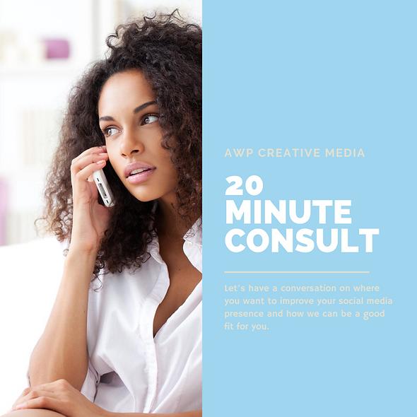 20 Minute Consultation