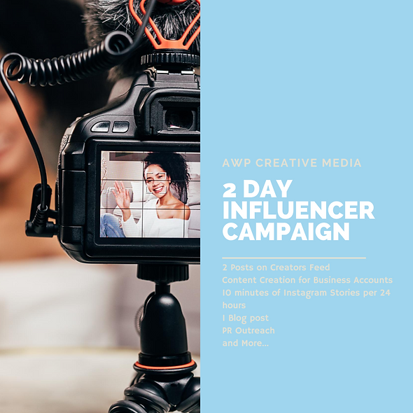 2DAY Influencer Campaign