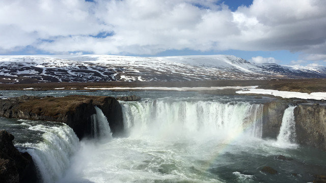 Lake Myvatn and Godafoss for Cruise Ships from Akureyri Port