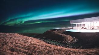 Northern Lights & GeoSea Geothermal baths