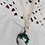Thumbnail: MAGNESITE MOON Pendant Necklace