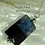 Thumbnail: BLACK & BLUE ACROSS  Stone Pendant