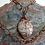 Thumbnail: COCOA DROP Jasper Pendant Necklace