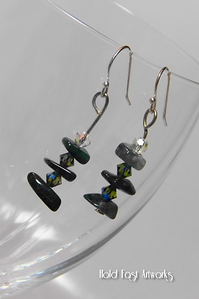 """Kambaba Tiers"" Earrings"