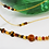 Thumbnail: GOLDEN TIGER Multi-strand Necklace