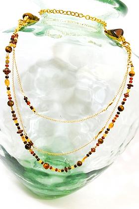 GOLDEN TIGER Multi-strand Necklace