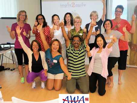 Laughter Yoga American Women's Association HK