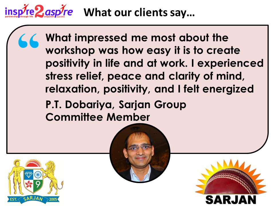 Sarjan Group Testimonial