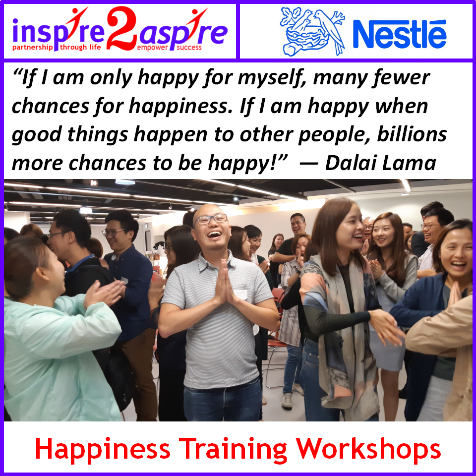 Happiness Training workshops