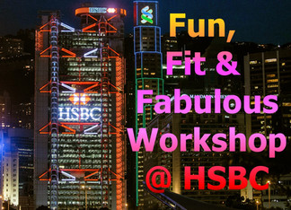 Fun Fit & Fabulous Lunch and Learn Laughter Workshop @ HSBC Hong Kong