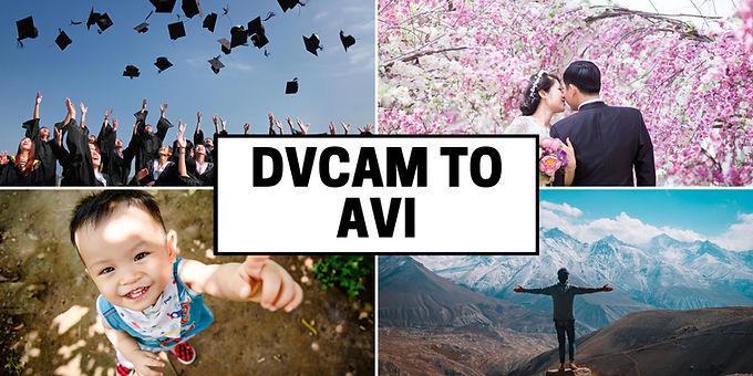 DVCAM to Uncompressed AVI Format convert