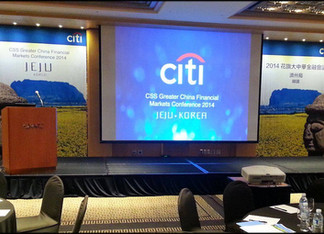 Laughter Yoga at Citibank Conference Jeju