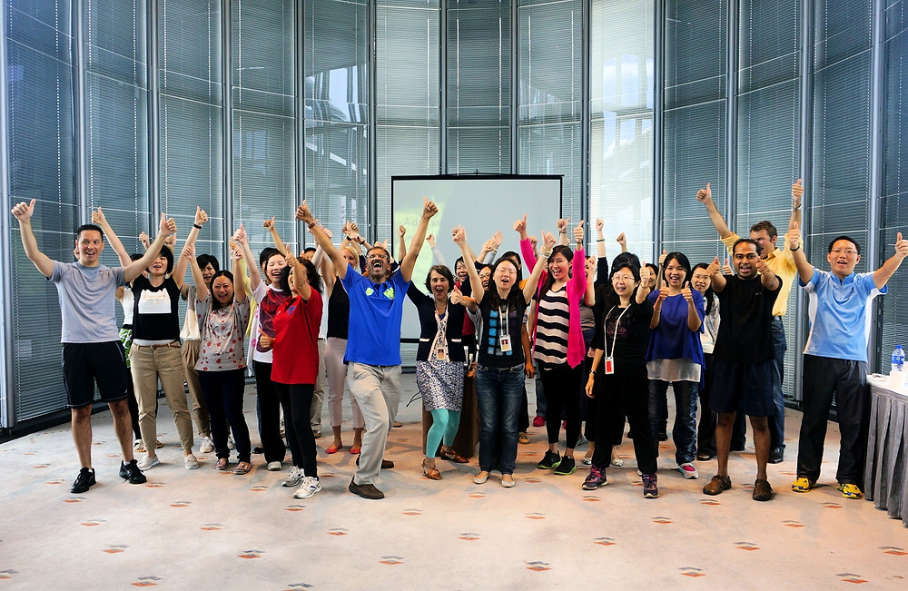 Fun Fit & Fabulous Staff Workshop @ HSBC Hong Kong HQ