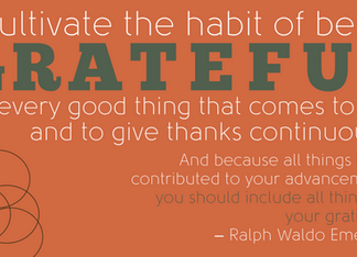 Habit of Gratitude in all things