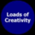 Loads of creativity, creative solution provider