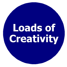 Loads of creativity, creative solution provider