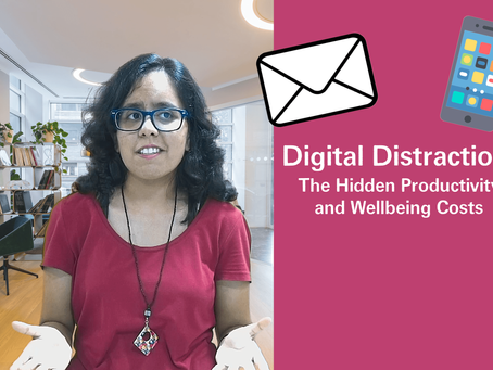 Digital Distractions: The Hidden Productivity and Wellness Costs