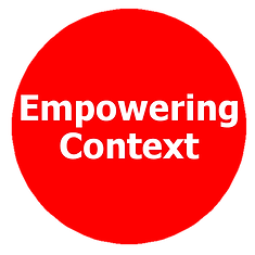 empowering context, empowered individual
