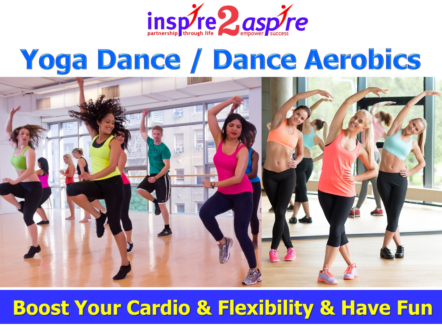 Yoga Dance / Dance Aerobics workshop
