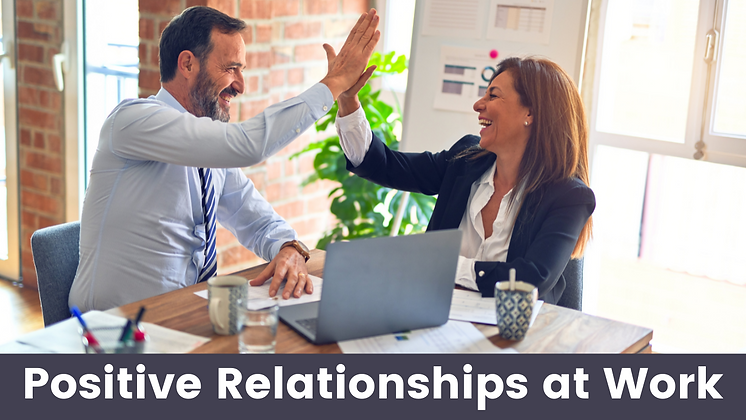 Positive Relationships at Work