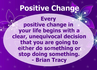 Positive Change In Life