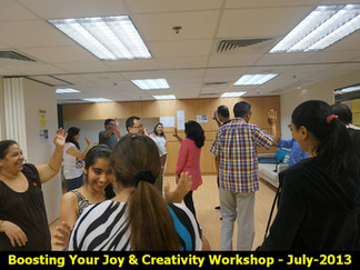 Boost Joy And Creativity Workshop