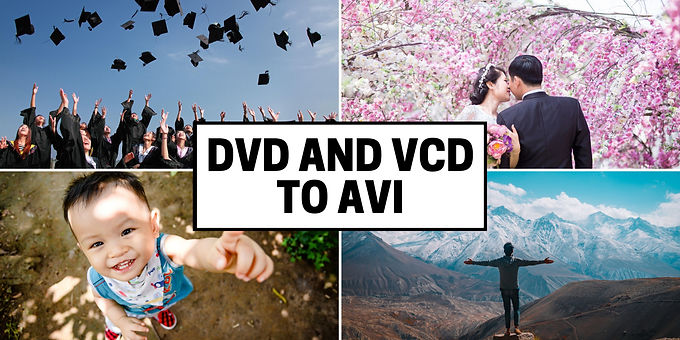 DVD VCD Discs to Uncompressed AVI Format convert
