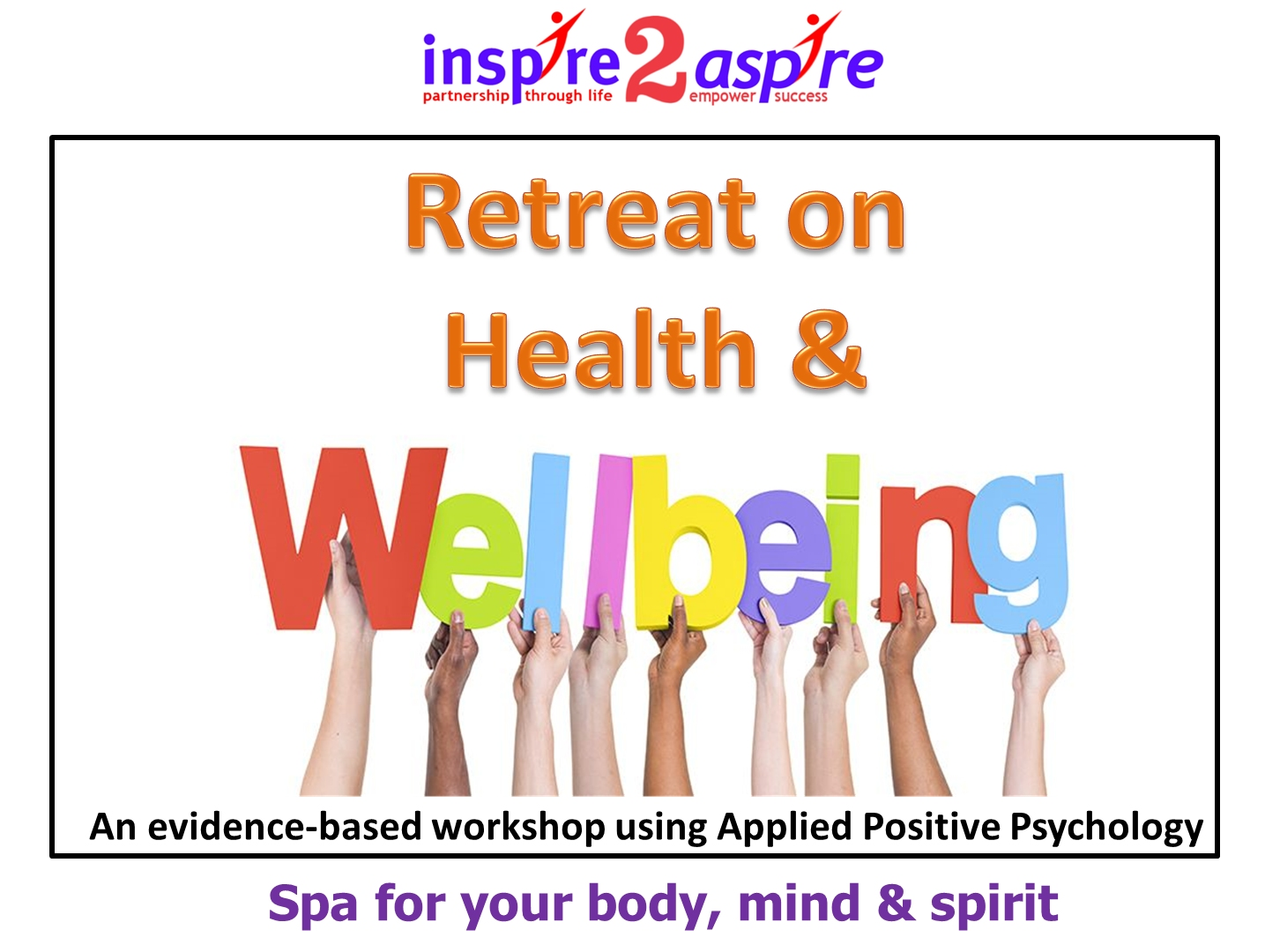 Health & Well Being Retreat For CEOs