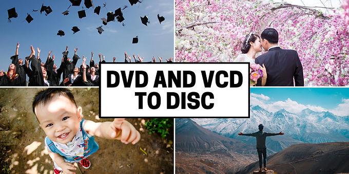 DVD VCD discs Backup