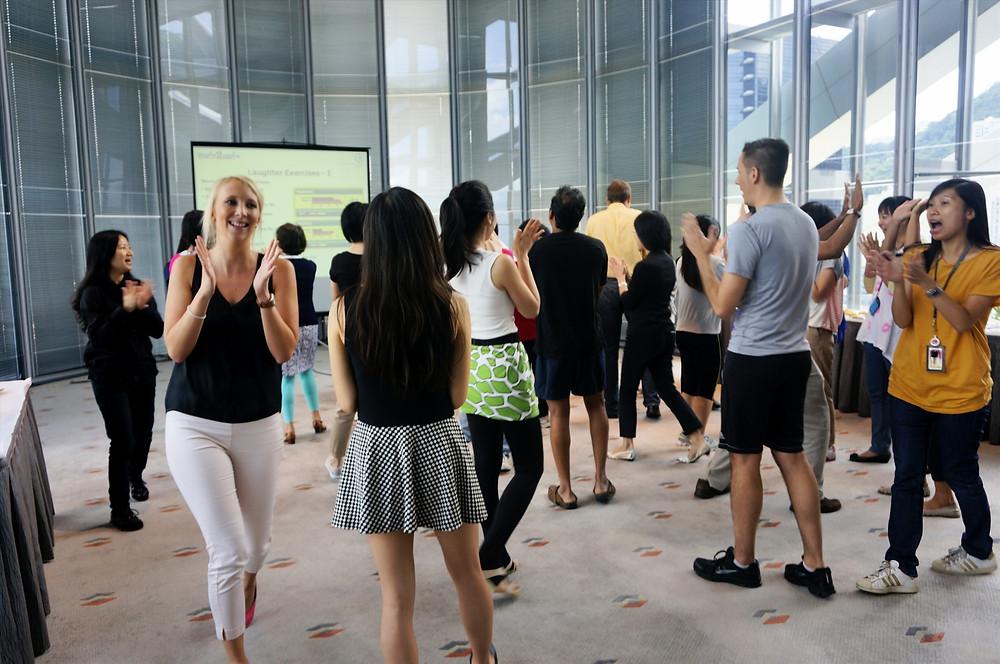 Fun Fit & Fabulous Staff Workshop @ HSBC Hong Kong HQ