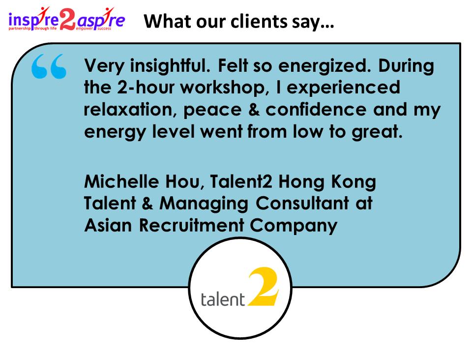 Talent2 HK Testimonial