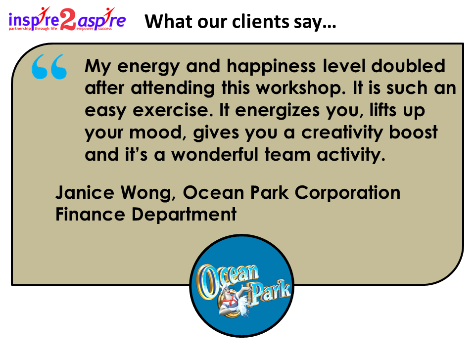 Ocean Park testimonial