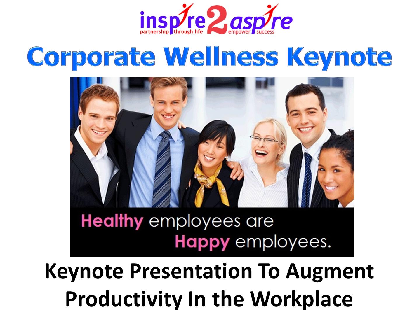 Keynote Presentation At Conferences
