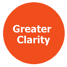 greater clarity focus attention to detail