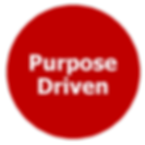 purpose driven goal target oriented