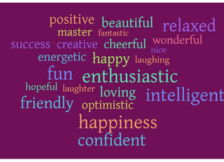 Train Your Brain With Positive Happy Words