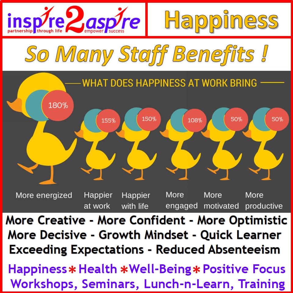 Happiness Training workshops benefits
