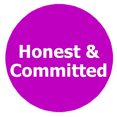 Honest, Committed, Integrity, Commitment
