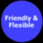 friendly flexible