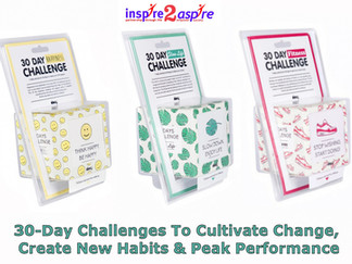 30 Day Challenges For Good Health, Happiness Fitness